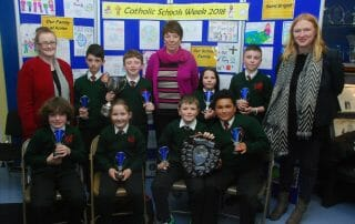 Primary School Quiz winners 2018